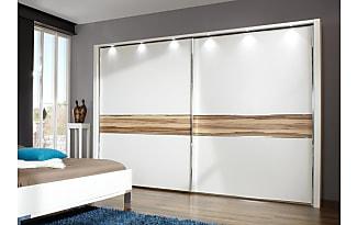Schlafzimmerschrank schiebetür weiß  Kleiderschränke Mit Schiebetüren in Weiß − Jetzt: bis zu −41 ...