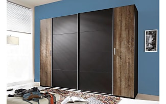 Schwebetürenschrank schwarz braun  Kleiderschränke in Schwarz: 95 Produkte - Sale: ab 2,99 € | Stylight