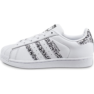 53e35b6112c Fleur adidas Adidas Motif Motif Avec Femme Superstar 8nO8qY