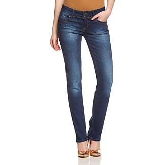 Cross Vaqueros skinny/slim fit para mujer, talla W26/L32 (ES 36), color verde (spearmint)