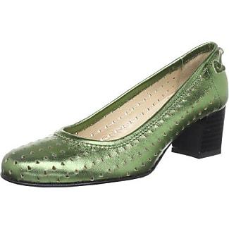 Lea 6052 - Zapatos de Vestir de Ante para Mujer, Negro, 37.5 Diavolezza