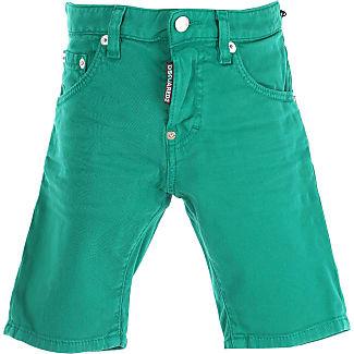 Dsquared2 Shorts Enfant pour Gar?on Pas cher Kgnl6gP