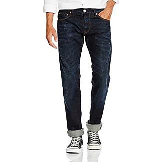 Hommes Jeans Stretch Denim Tyler, Bordure Bleue Magnifique