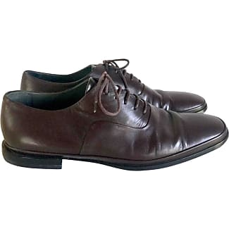 Lace Up Shoes for Men Oxfords, Derbies and Brogues On Sale, Black, Leather, 2017, 4.5 5.5 Jil Sander
