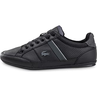Toile Suedee Et Light En Piquee Lacoste lacoste Basket Sneakers Noir xwHq01WYZ