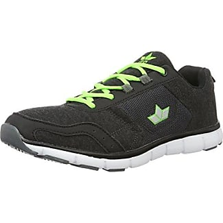 Lico Marvin V 120073 - Zapatos para correr para hombre, Anthrazit/Negro/Lemon, 43 amazon-shoes el-negro Zapatillas running