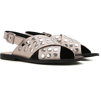 Zapatos de Mujer Baratos en Rebajas, Negro, Piel, 2017, 35 Alexander McQueen