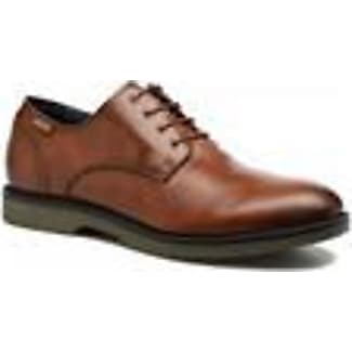 Caceres M9E I16, Chaussures Lacées Hommes, Marron (Olmo), 40 EUPikolinos