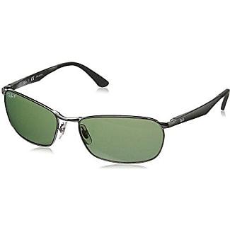 Ray-Ban Unisex - Adulto Rb 3534 Occhiali da sole, Grigio (Gunmetal), 62