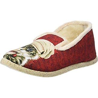 Drancy, Zapatillas de Estar por Casa para Mujer, Rojo (20 Rouge 20), 41 EU Rondinaud