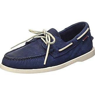 Sebago Docksides Chaussures Bateau Homme, Bleu (Blu Marine), 46.5 …
