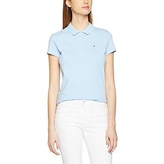 Tommy Hilfiger New Chiara Str Pq Polo Ns, Mujer, Blanco (Classic White 100), 44 (Talla del fabricante: 42 XL)