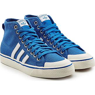 Kleinkinder Adidas Hardcourt Hi I braun Winter Sneaker mit Fell D67659
