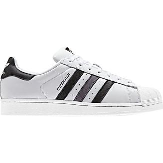 adidas superstar j w scarpa bianco nero