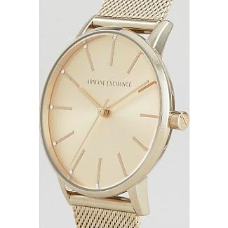 Armani Reloj de malla dorado AX5536 de Armani Exchange