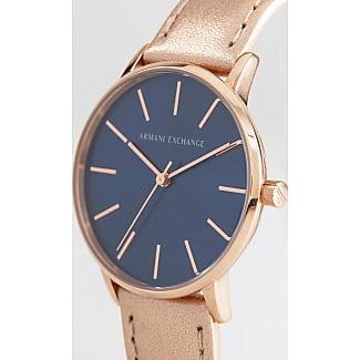 Armani Reloj de cuero en dorado metálico AX5547 de Armani Exchange
