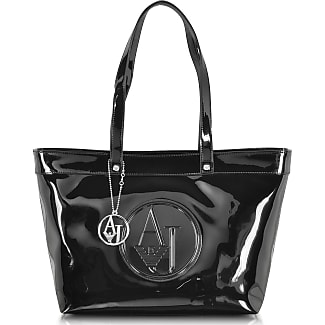 Tote Bag On Sale, Black, polyester, 2017, one size Armani Jeans