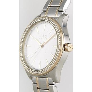 Armani Reloj de pulsera plateado AX5446 de Armani Exchange