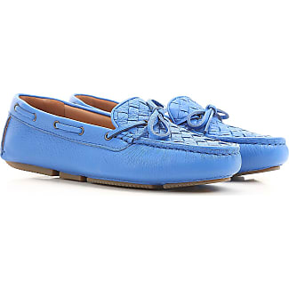 Zapatillas Slip On para Mujer Baratos en Rebajas, Azul Pacífico, Gamuza, 2017, 37 38 38.5 39.5 Bottega Veneta