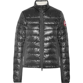 Canada Goose Hybridge Lite Jersey-paneled Quilted Shell Down Jacket - Black