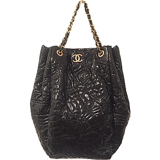 chanel tote bag. chanel pre-owned - patent leather handbag tote bag