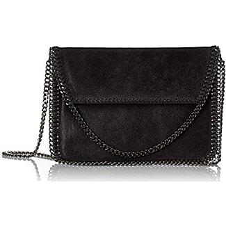 Womens 10009-i-Nero Clutch Bag, Black (Nero), 24 cm Chicca Borse