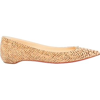 Christian Louboutin Occasion - Ballerines en cuir