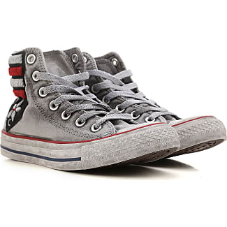 converse 6 5 womens. converse sneakers for women on sale, denim grey, fabric, 2017, us 5 6 womens g