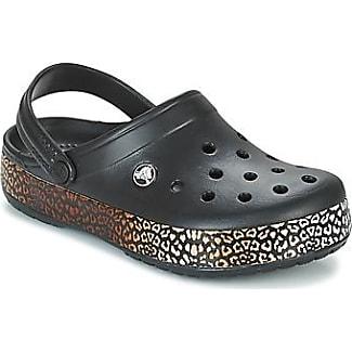 Crocs - Zuecos para Mujer, Color Negro, Talla 37.5