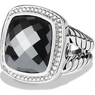 david yurman albion ring with hematine and diamonds