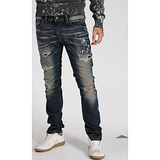 Thavar, Pantalones para Hombre, Azul, W28/L34 Diesel