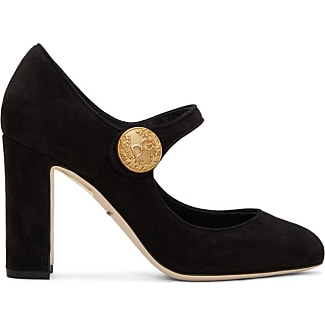 Pumps & High Heels for Women On Sale, Mary Jane, Black, Leather, 2017, 4.5 Dolce & Gabbana