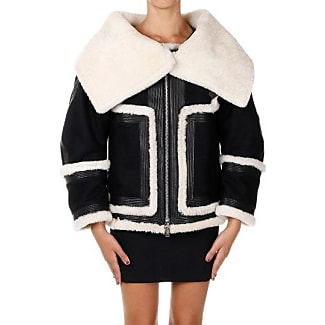 Dsquared2 Wool Jacket with Shearling and Leather Details Herbst/Winter