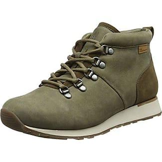 El Naturalista Unisex Adults' ND62 Pleasant-Lux Suede Kaki/Walky Hi-Top Sneakers