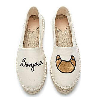 Fab By Fabienne Chapot Shoes Espadrilles Canvas Embroidery Beige