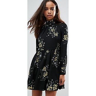 Fashion union floral print bardot dress
