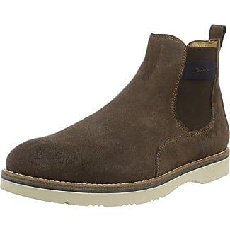 GANT Oscar, Zapatillas de Estar por Casa para Hombre, Marrón-Braun (Dark Brown G46), 44 EU