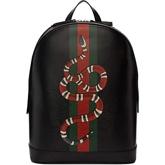 gucci book bags for men. gucci black web and kingsnake backpack book bags for men