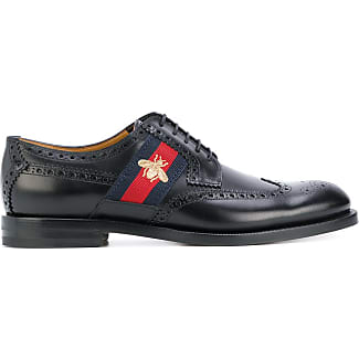 gucci shoes bee. gucci bee web-trimmed brogues - unavailable shoes