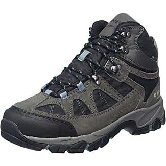 Hi-Tec Alpha Trail Mid WP - Zapatillas de senderismo para hombre, color Grau (Coal/Charcoal/Grey 051), talla 44