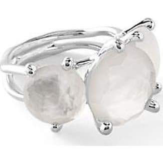 ippolita 925 rock candy 3stone ring in quartz doublet size 7