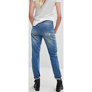 Enge Jeans mit Wasch-Effekt - Blau Jacqueline de Yong