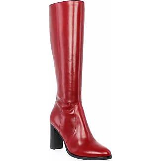 nouveau authentique nouvelles photos dernière collection bottes femme bottes rouges cuir,boots rouges pas cher