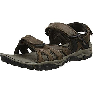 Karrimor - Leather Travel Sandal Ladies SeaL 3, Sandalias de Senderismo Mujer, Marrón (Seal), 36 EU
