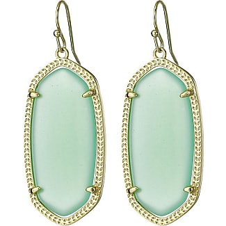 Kendra Scott Elle Black Iridescent Earrings In Blue Lyst Source Earring