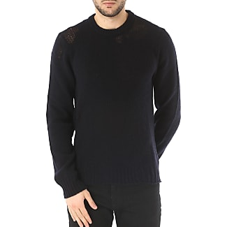 Sweater for Men Jumper On Sale, Black, Wool, 2017, M S Maison Martin Margiela
