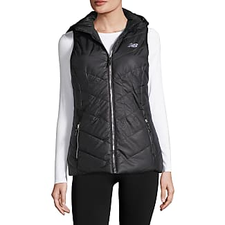 new balance puffer jacket. new balance quilted poly puffer vest with detachable hood jacket 5