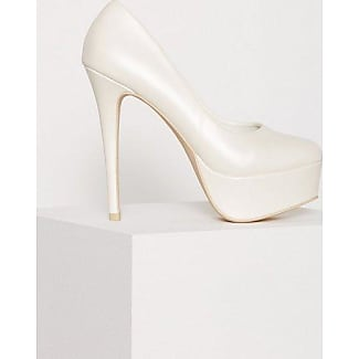 NLY NLY Shoes Platform Pump Pumps White Pearl