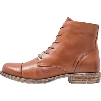 Pier One Bottines à lacets brandy