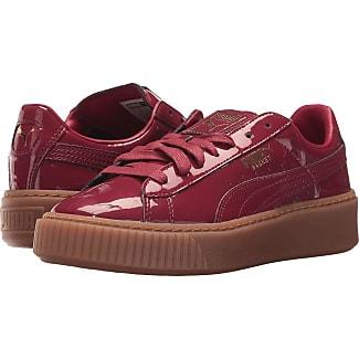 puma red shoes